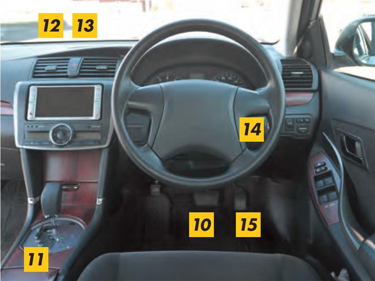 イメージ図/運転席